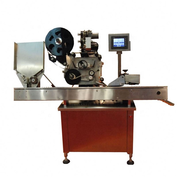 10-50ml Round Bottle Vial Labeling Machine For Lipsticks Of Cosmetic