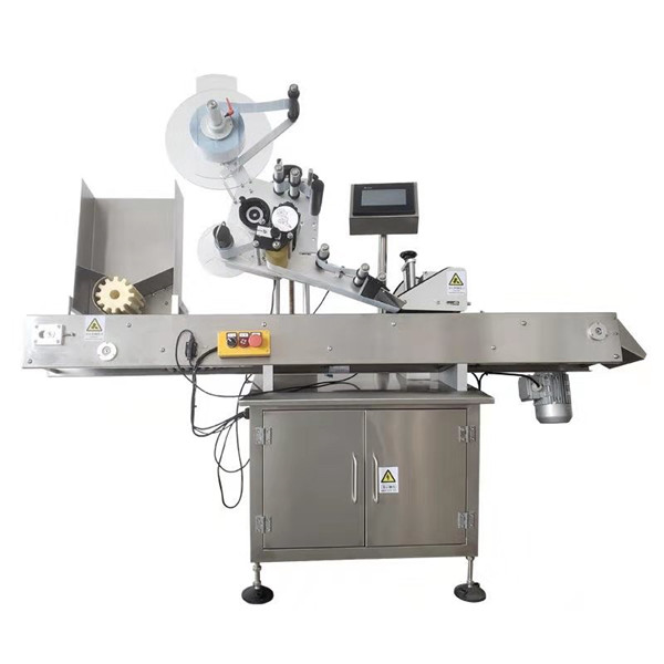 10ml Round Vial Sticker Labeling Machine With Sus304 Stainless Steel