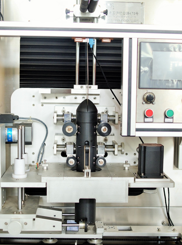 Cap and body sealing shrink sleeve labeling machine with two heads