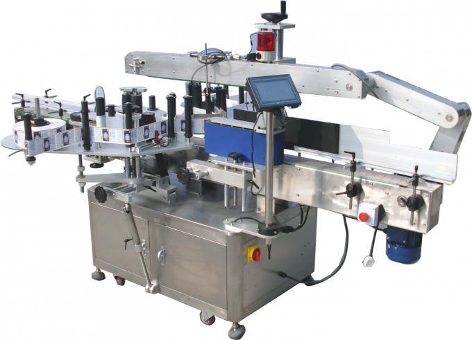 220V 3.5Kw Automatic Double Side Sticker Labelling Machine 60-350Pcs / Min
