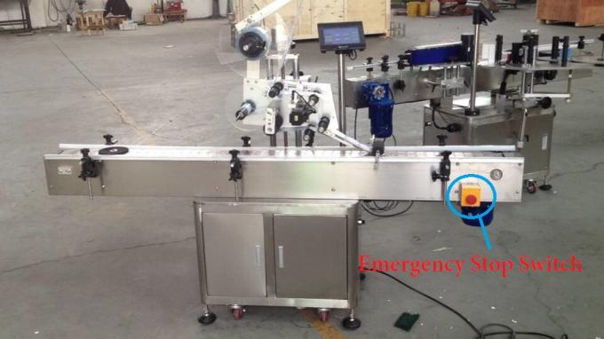Siemens PLC Flat Surface Label Applicator For Mask With CE Certificate