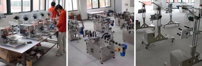 Labeling machine for cups and round bottles full automatic stick