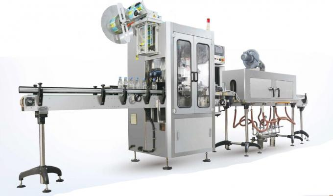 Nature Spring Water Shrink Sleeve Labeling Machine / Shrink Sleeve Applicator Machine