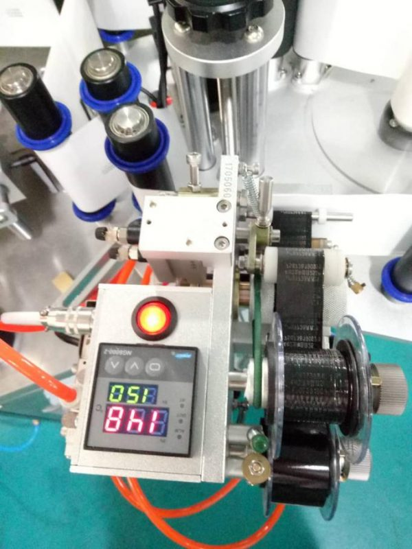 Label Automatic Doubel Side Sticker Labeling Machine With Paging Device And Coding Machine