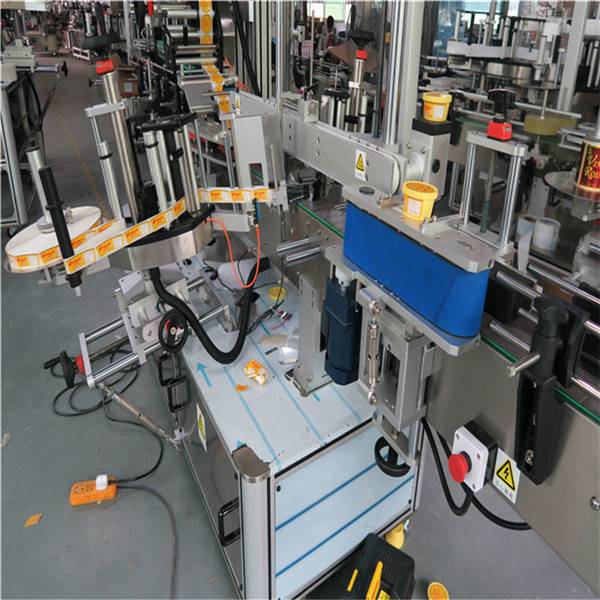 Linear Three Self Adhesive Labeling Machine For Beverage Food Daily Chemical