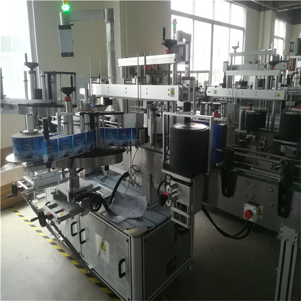 Self Adhesive Labeling Machine For Plastic Pet Bottle , Bottle Label Applicator Machine