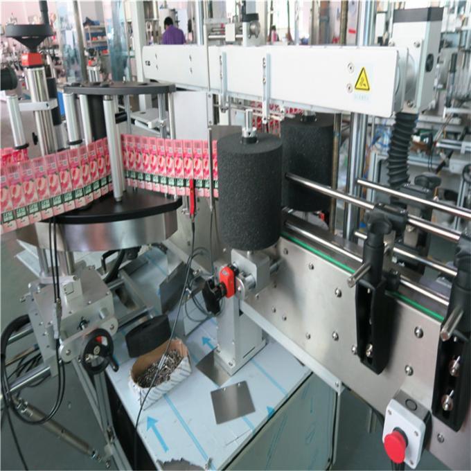 Shampoo Bottle Automated Labeling Machine Adhesive Sticker Labeler