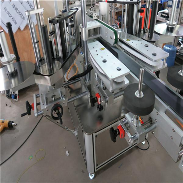 Shampoo Cosmetic Bottle Sticker Labeling Machine 30-100 mm Container Length