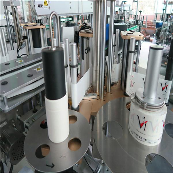 Sticky Automatic Sticker Labeling Machine , Auto Labeler Machine For Bevarage / Drinks