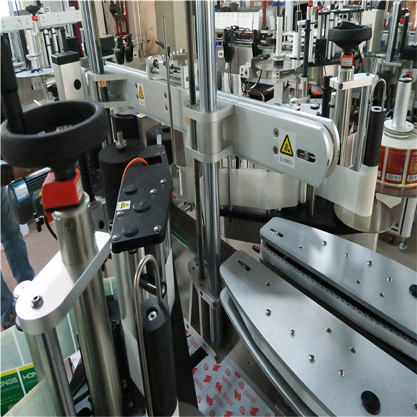 No Wrinkles Stable Automated Labeling Machine 30mm thick aluminum alloy plate