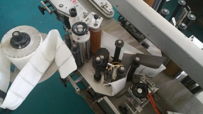25kg Jar Square Bottle Sticker Applicator Machine, Labeling Machine With Feeding Bottles Stable Speed