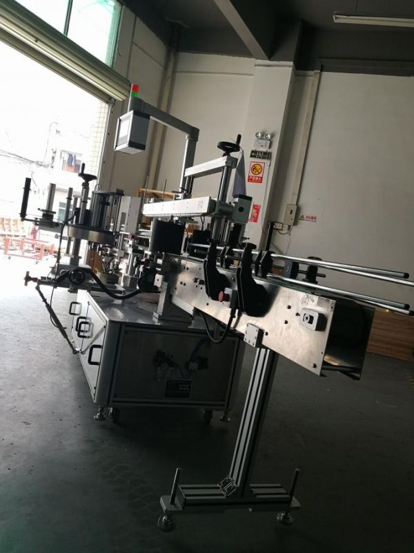 High Speed Wrap Around Labelling Machine For Oval Bottle 220V