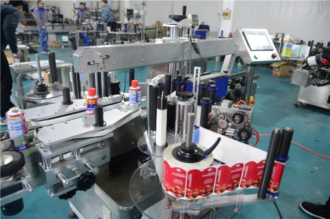 Automatic aerosol cans sticker labeling machine for pvc food can round bottle labeling applicator for best selling