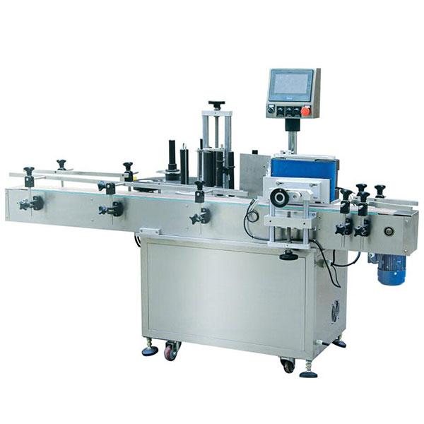 350ml Automatic Round Bottle Self Adhesive Sticker Labeling Machine