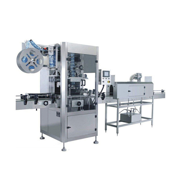 5.5 KW Cups Shrink Sleeve Labeling Machine
