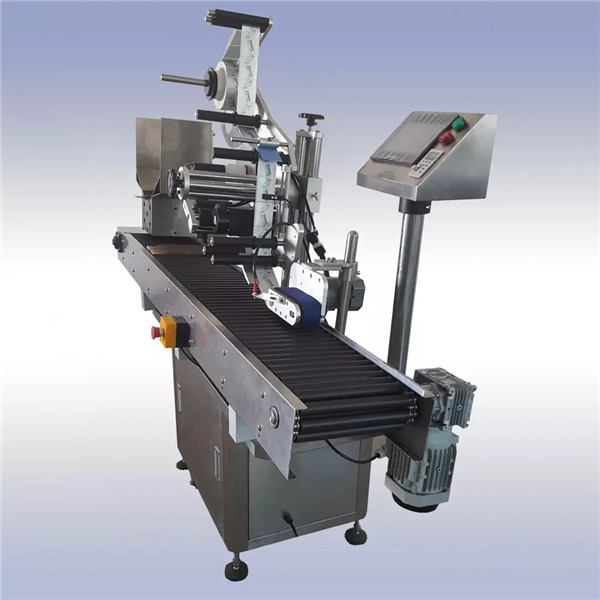 Adhesive Automatic Sticker Labeling Machine Imported Motor Control