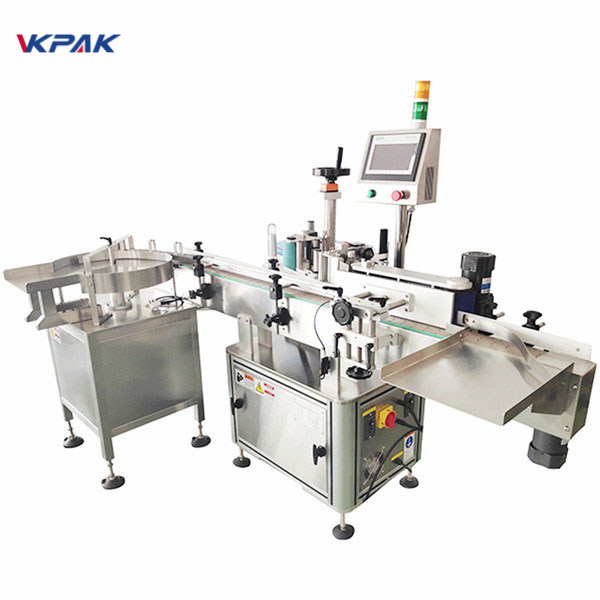 Adhesive Sticker Automatic Pressure Sensitive Label Applicator Machine