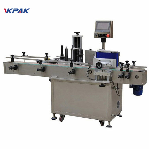 Alcoholic Beverage Round Bottle Sticker Labeling Machine Equipment