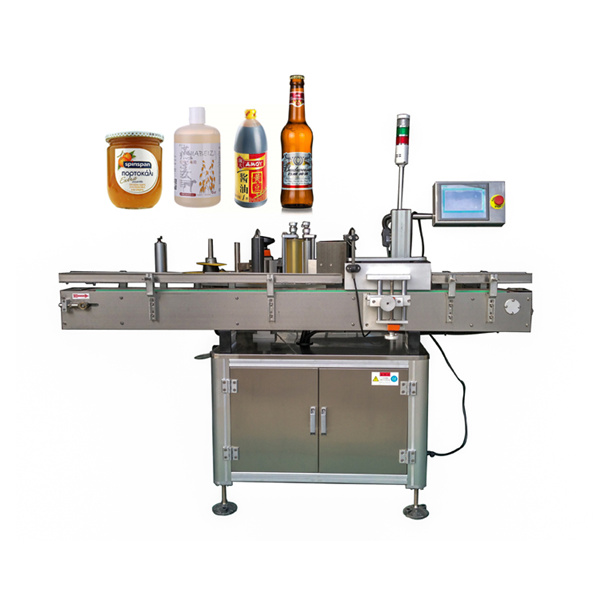 Around Automatic Sticker Labeling Machine Flat And Round Bottle