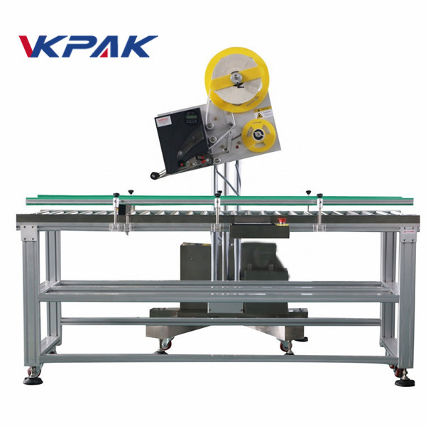 Auto Envelope Industrial Label Applicator For Small Scale Production Paper Box