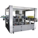 Auto Self Adhesive Single Side Rotary Labeling Machine High Speed