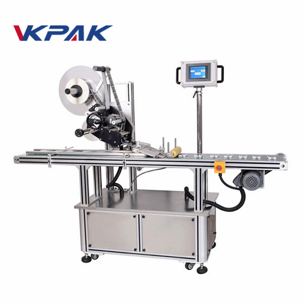 Automatic Flat Surface Label Applicator Cup Cover Labeling
