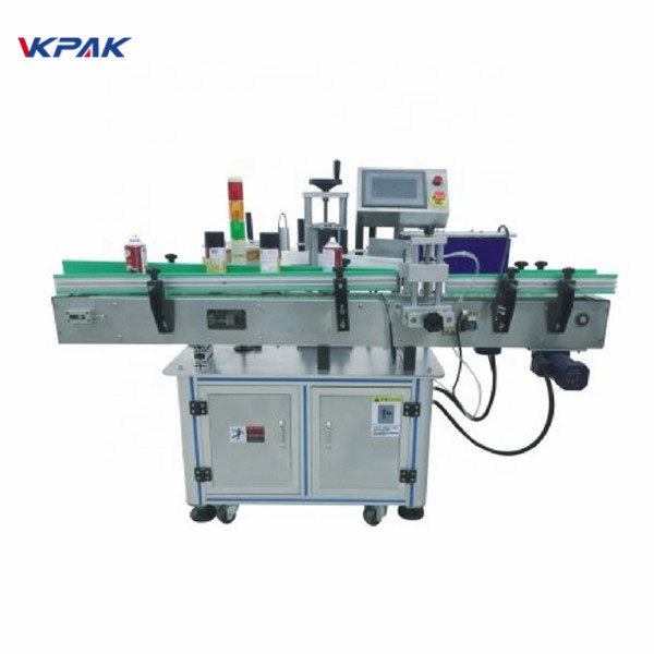 Automatic Label Applicator Machine With Turntable Self Adhesive Sticker