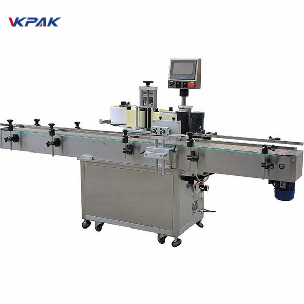 Automatic Oil Vertical Self Adhesive Round Bottle Labeling Machine