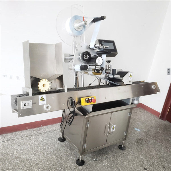 Automatic Pet Round Wine Bottle Labeling Machine