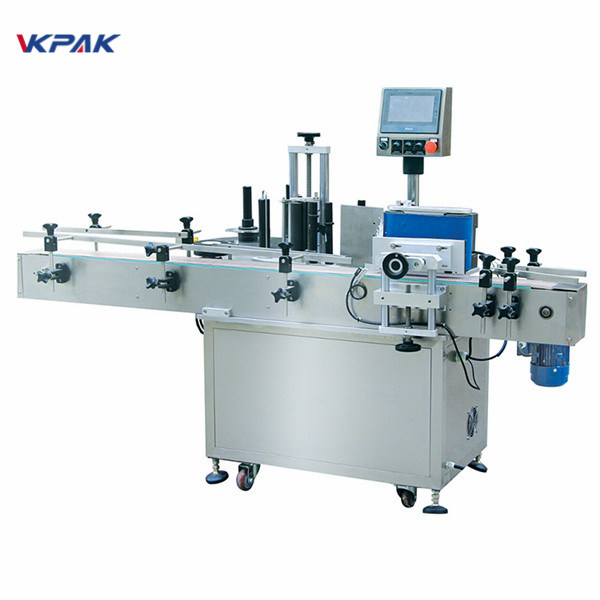 Automatic Round Bottle Label Applicator Machine
