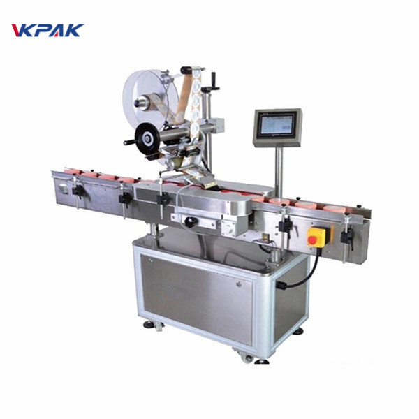 Automatic Round Bottle Labeling Machine With Fixed Point Self Adhesive