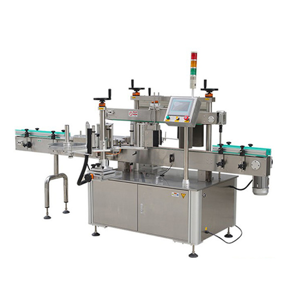 Automatic Round Bottle Sticker Labeling Machine With Date Printer