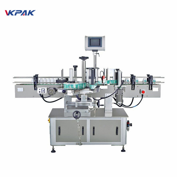 Automatic Self Adhesive Label Applicator Machine For Middle Round Cup Stick