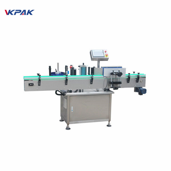 Beverage Cans Labeling High Speed Automatic Label Applicator Machine