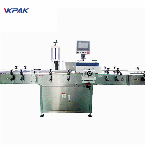 Bottle Separator And Automatic Labeling Machine With Fixed Point Self Adhesive