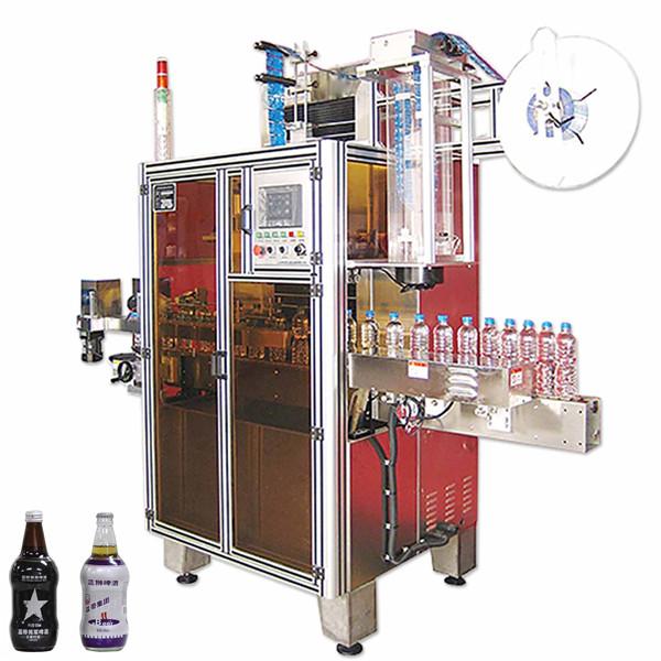 Bottled Drink Shrink Sleeve Label Machine , Shrink Sleeve Label Applicator