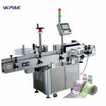 CE Approval Bottle Label Applicator Machine For Round Bottle Labeling