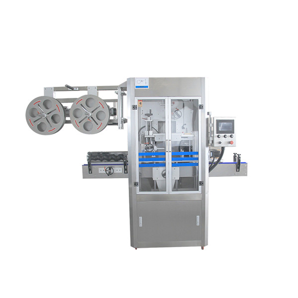 Cap Sealing Stainless Steel Shrink Sleeve Applicator Machine With Steam Generator