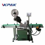 Ce Flat Surface Label Applicator Machine With Collection Table