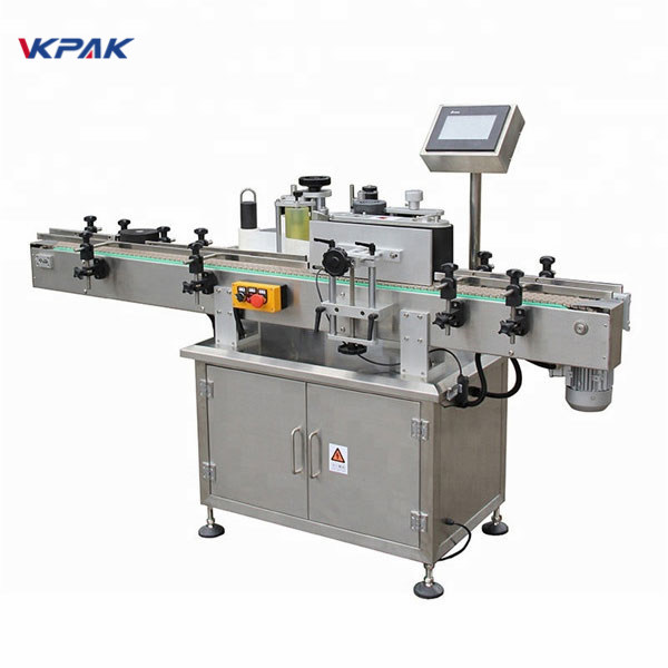Complete Cycle Rond Bottle Adhesive Labeling Machine Equipment