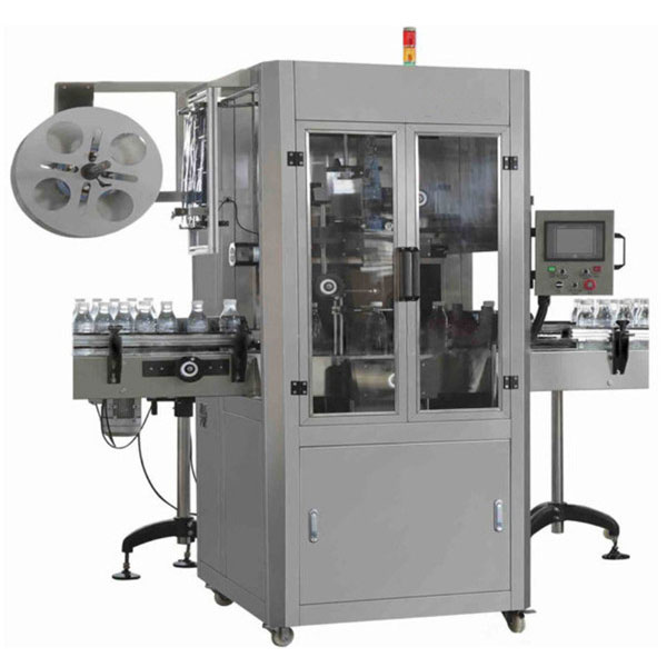 Curve Shrink Sleeve Applicator Machine For Variant Bottle Type