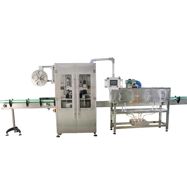 Double Sided Stainless Steel Shrink Sleeve Labeling Machine For Various Bottles