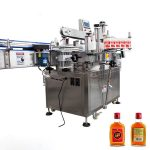 Wine Bottle Label Applicator Double Sided Sticking Labeling Machine