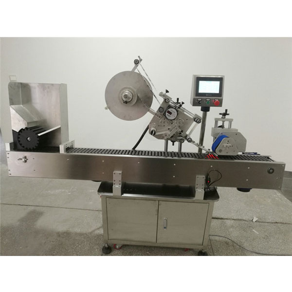 Economy Automatic Foodstuff Vial Labeling Machine