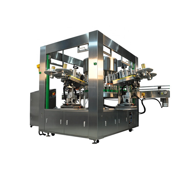 Efficient Bottle Rotary Sticker Labeling Machine Equipment