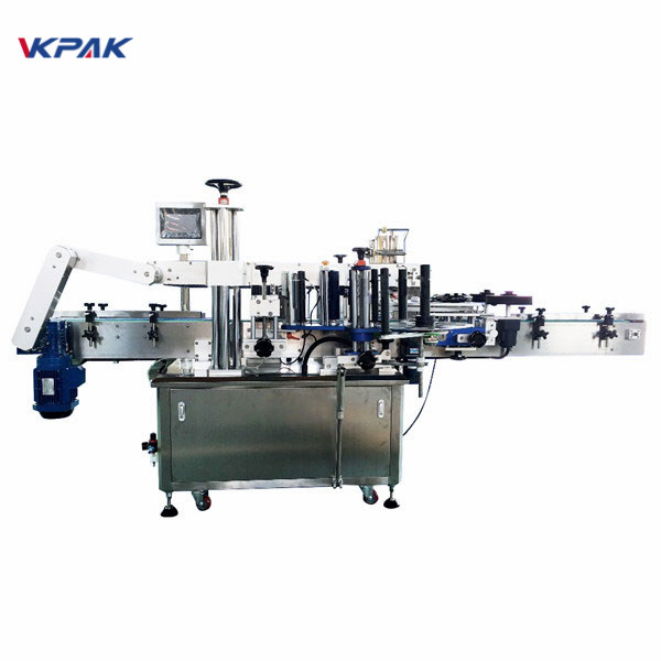 Fixed Point Syringe Round Bottle Labeling Machine For Pet Round Bottles