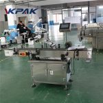 Flat Bags Automatic Flat Surface Label Applicator For Top Side