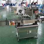 Flat Surface Label Applicator For Square Bottle Labeling / Box Labeling Machine