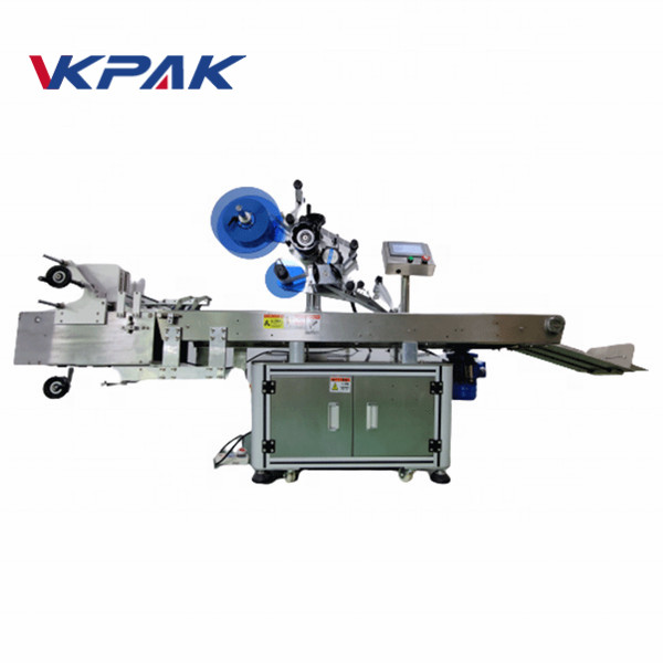 Full Automatic Flat Surface Label Applicator Bag Labeling Machine