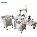 Full Automatic Front And Back Labeling Machine For Round Pet Jars